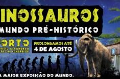Os dinossauros e o mundo pré-histórico no Porto